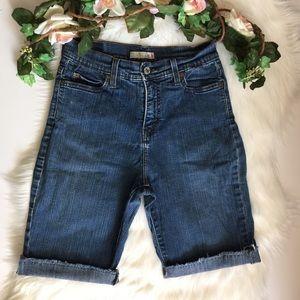 Levi's Vintage 512 Denim Blue Jean Shorts